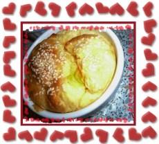 Soufflé mimolette et gruyère