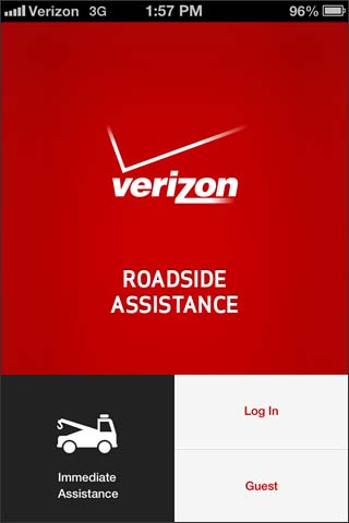 Request Assistance   Roadside Assistance   Apple iOS   Verizon Wireless Immediate Assistance