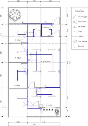 Perencanaan Instalasi Listrik | scadaku