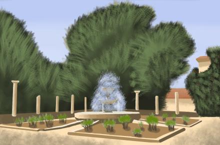 Античный дворик