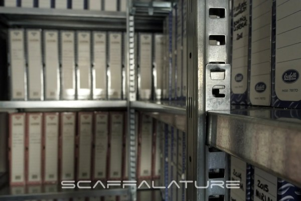 Scaffalature metalliche industriali