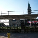 Scaffolding at Parlement
