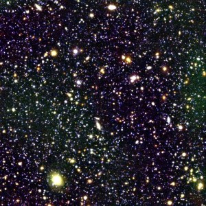 Space contains hundreds of billions of galaxies