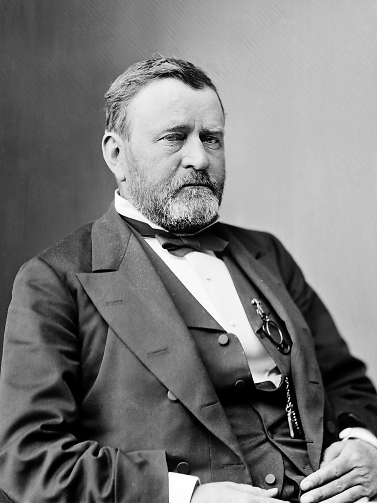 President Ulysses S. Grant. Image courtesy the Library of Congress.