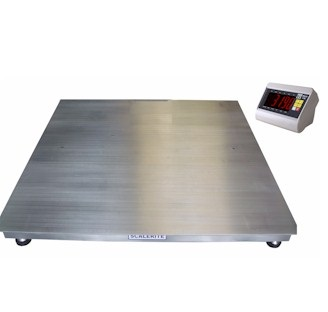 Scale-Hire-INDUSTRIAL STAINLESS STELL PLATFROM 3TON