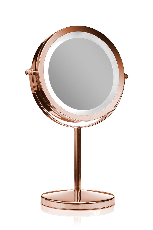 Kob Gillian Jones Makeup Spejl M Led Rosa Guld