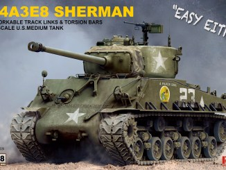 1/35 M4A3E8 SHERMAN RM-5028 RYE FIELD MODEL