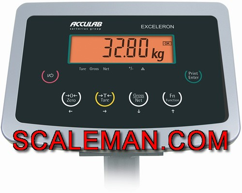 Acculab Exceleron Ecl15edp Lo Us Bench Scale
