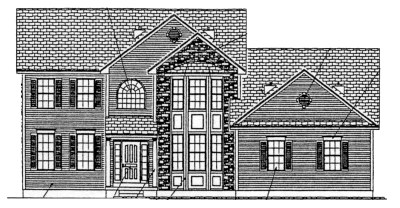 The Belmont II front-elevation4