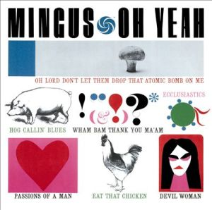 Album cover for Oh Yeah by Charles Mingus