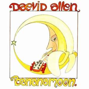 Album cover for Bananamoon by Daevid Allen