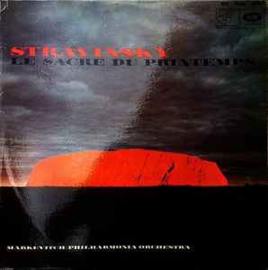 Album cover for Le Sacre du Printemps by Stravinsky