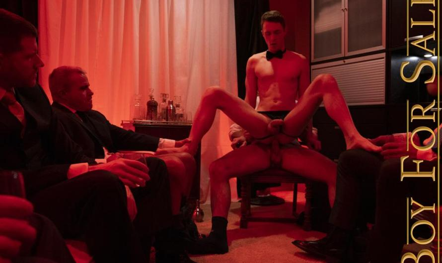 BoyForSale – BOY COLE – Auction Party Favor – The Buyer's Night