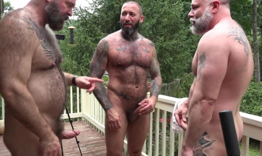 MuscleBearPorn – Serb Cock – Alexander Kristov, Liam Angell, Will Angell