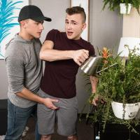 MEN - Green Thumb, Big Dick - Jake Porter & Zander Lane - Bareback