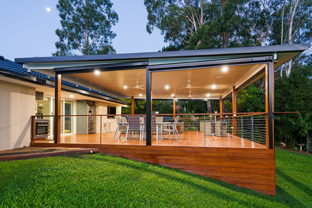 gold coast deck and insulated roof with