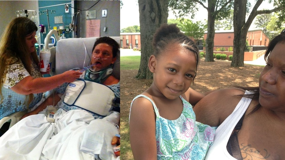 pa Michael Patterson uninusured dad paralyzed after saving drowning girl to receive help.