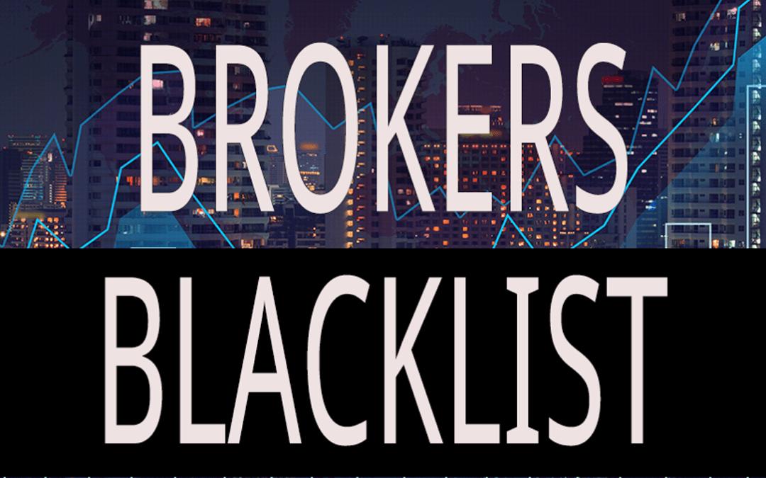 Brokers Blacklist