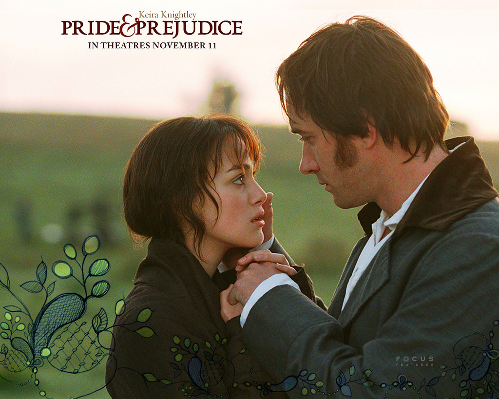 Thoughts Whilst Watching Pride And Prejudice 2005