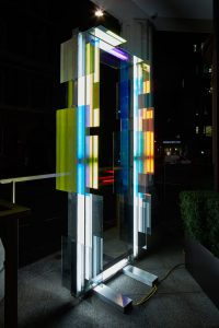 Nathaniel Rackowe, SCANDALE PROJECT, contemporary art, contemporary artist, light, shape, geometric, emerging, art installation, scandaleproject,