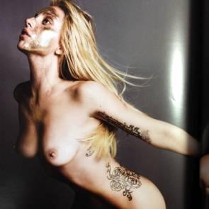 Lady Gaga Naked magazine