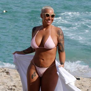 Amber Rose Nude LEAKED Pics & Sex Tape – Ultimate Compilation 2020 75