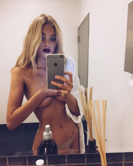 Elsa Hosk Nude & Topless Pics And LEAKED Porn Video 78