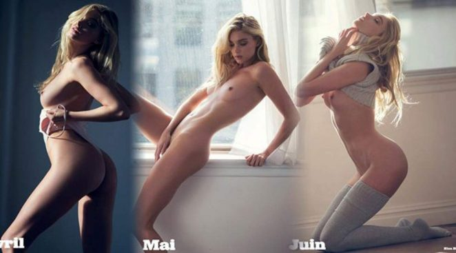 Elsa Hosk Nude & Topless Pics And LEAKED Porn Video 22
