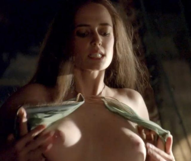Jaime Murray Nude Sex Scene In Spartacus Gods Of The Arena Series Eva Green