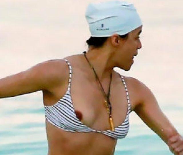 Michelle Rodriguez Nip Slip Lesbian Actress Is Sexy