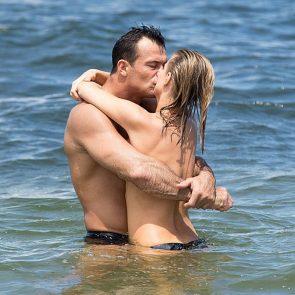 jessica alba nude kissing husband