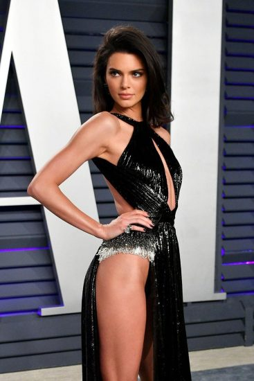 Kendall Jenner pussy out of dress