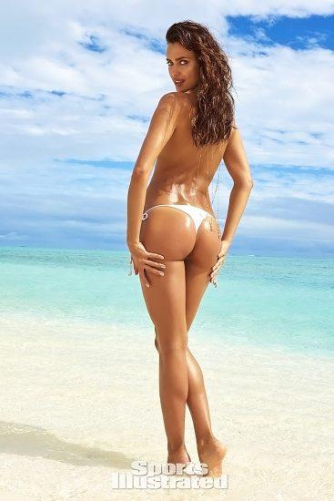 Irina Shayk nude back