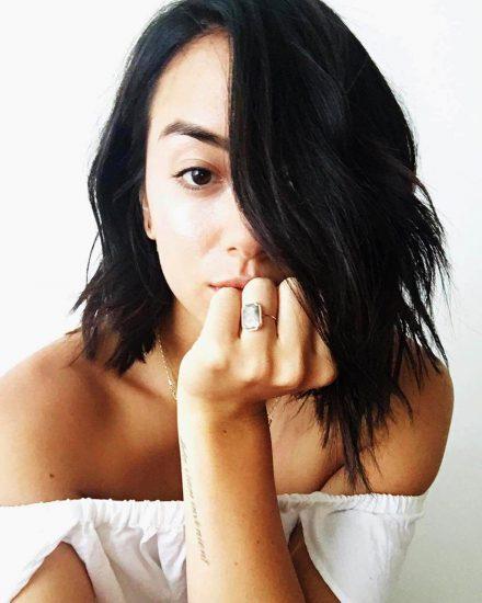 Chloe Bennett selfie