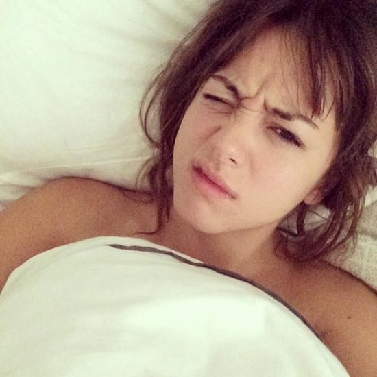Chloe Bennett leaked pic from her bed