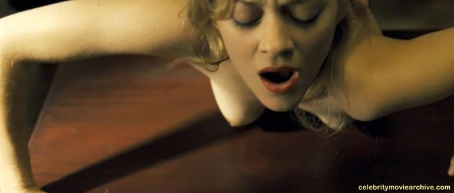 Marion Cotillard topless video