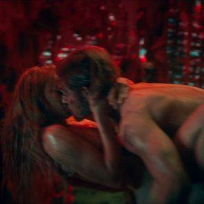 Jeanne Goursaud nude sex scene in barbarians