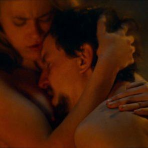 Jeanne Goursaud nude in movie scene