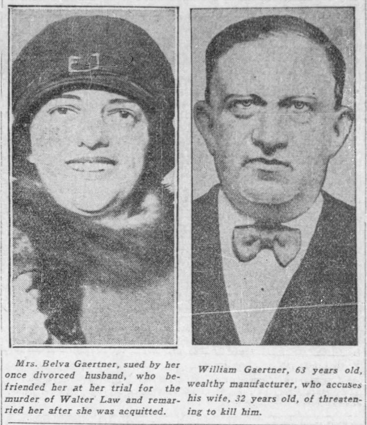 Belva and husband divorce