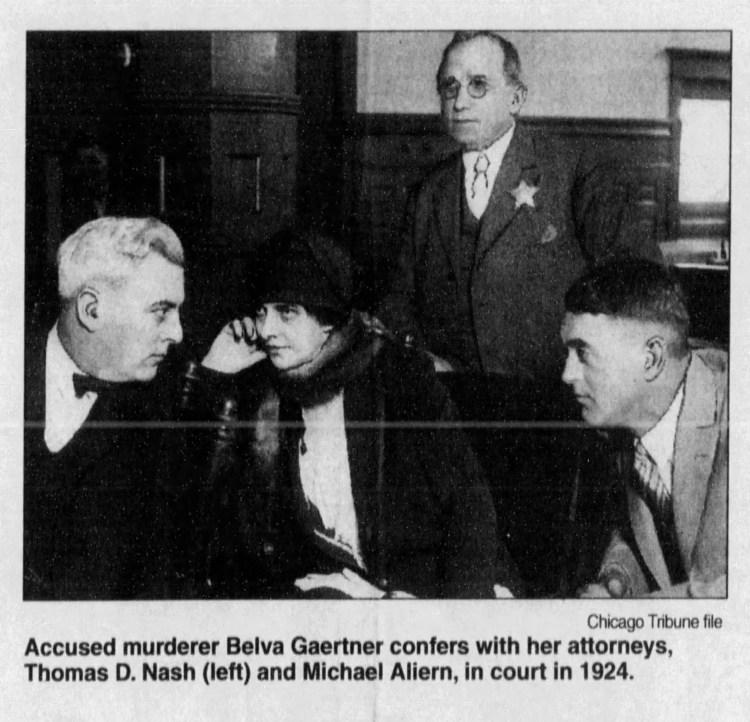 Belva confers with Attorneys
