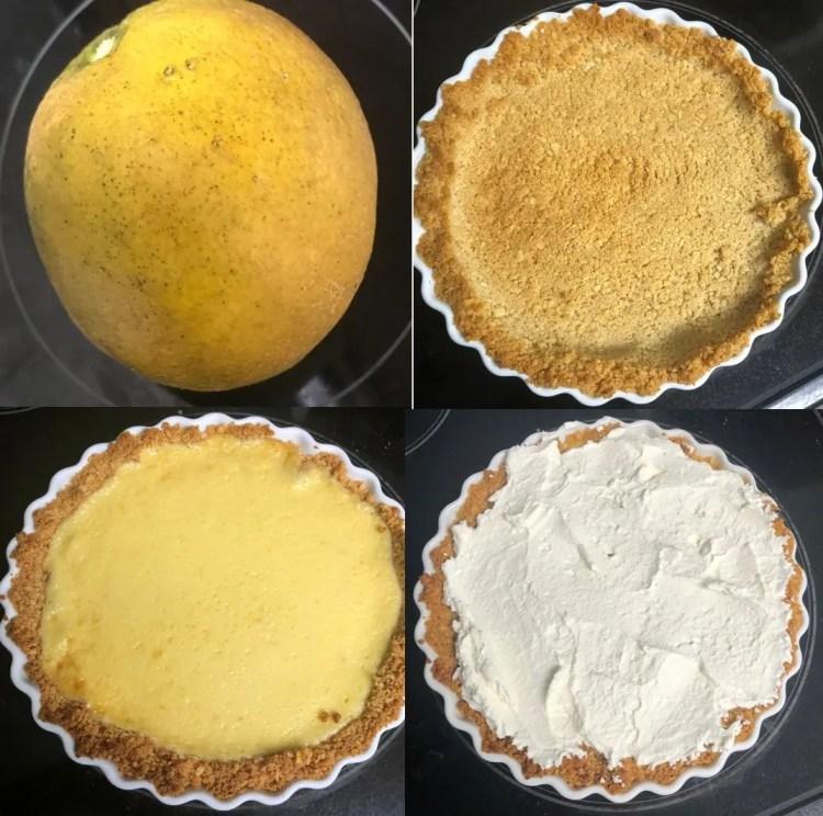 Bruce's Meyer Lemon Pie