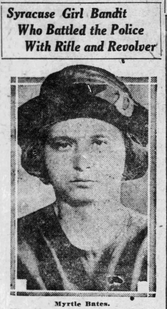 Myrtle Bates - Girl Bandit