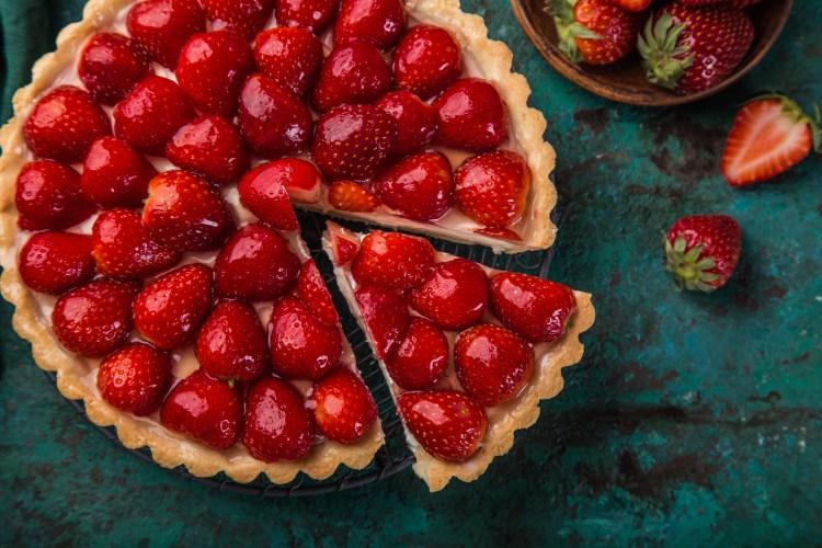 Strawberry Cream Cheese Pie