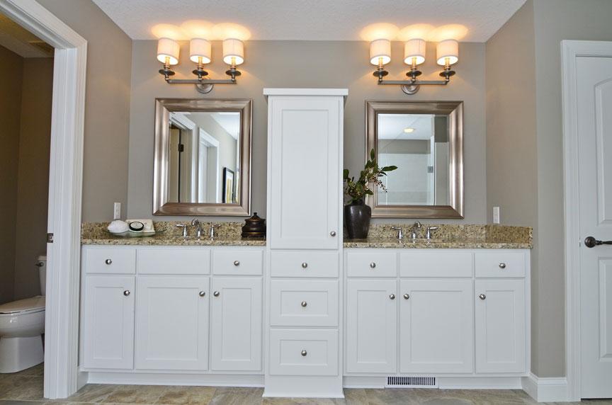 Bath Amp Vanities Scandia Custom Cabinets
