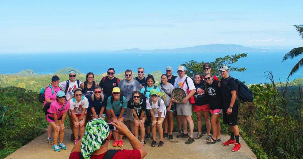 LAGRANGE college student trip scandi divers resort puerto galera