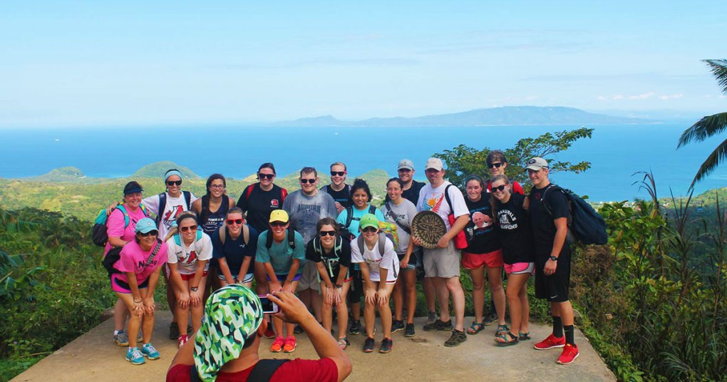 LAGRANGE college student trip scandi divers resort puerto galera
