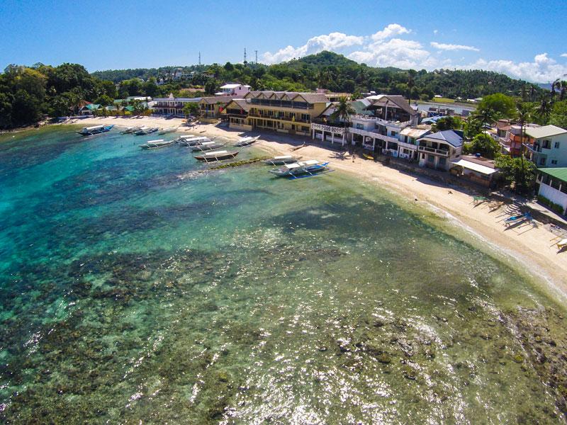 big lalaguna beach puerto galera