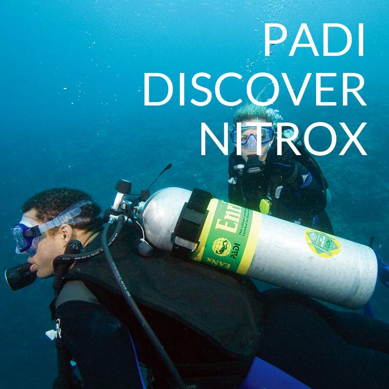 padi discover nitrox course puerto galera