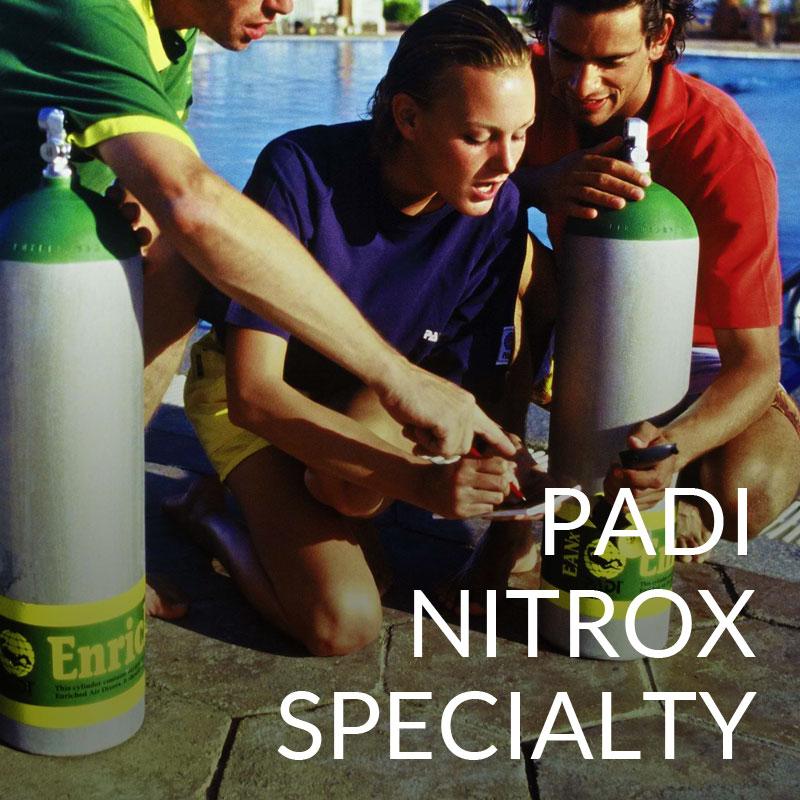 padi nitrox course puerto galera