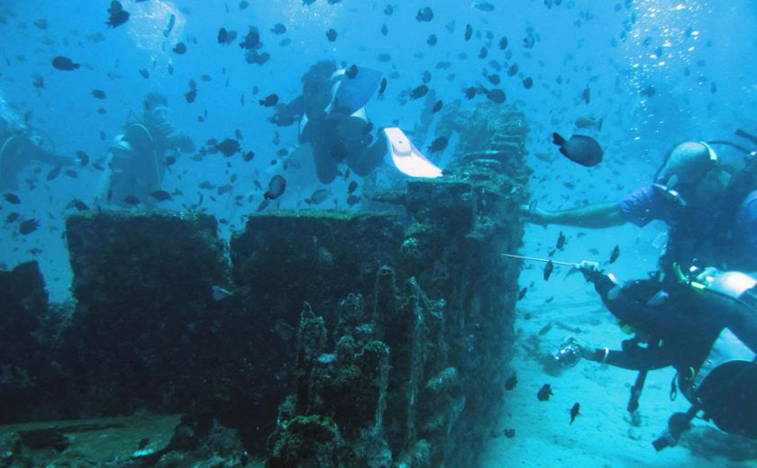 sabang wrecks dive site